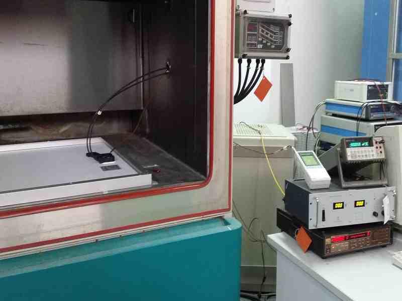 Set-up misura e strumentazione utilizzata per la prova.